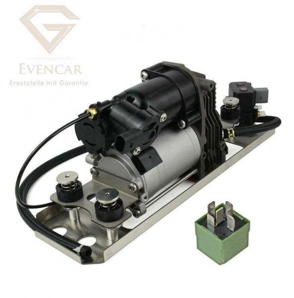 Kompressor für BMW 5er E61 Luftfederung & Halterung & Relais 37106793778 Neu